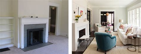 Dramatic And After Living Rooms by A Decatur Cottage S Dramatic Makeover Atlanta Magazine