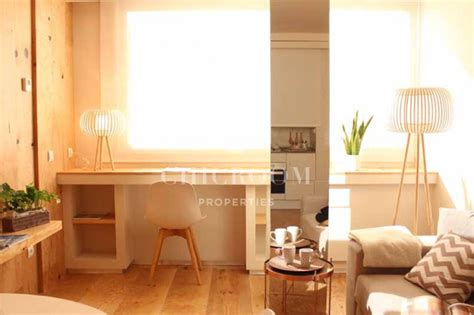 furnished 1 bedroom apartment for rent les corts barcelona