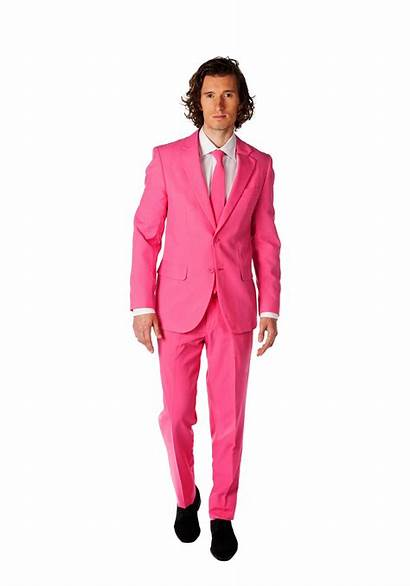 Suit Pink Opposuits Mens Costume Valentines Costumes