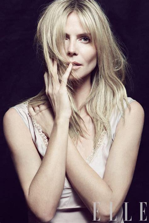 Heidi Klum Jessica Simpson For Elle April Laetitia