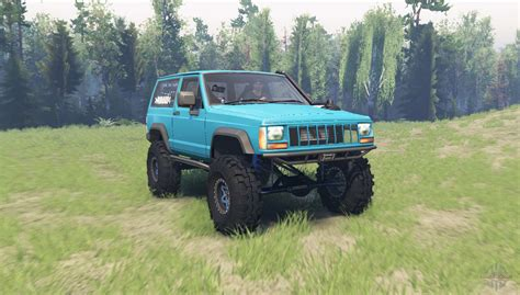 Jeep Xj 1990 For Spin Tires