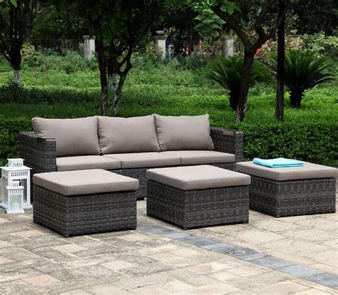 Loungemöbel Günstig Outdoor by Outdoor Loungem 195 Bel Polyrattan Moderne Gartenlounge