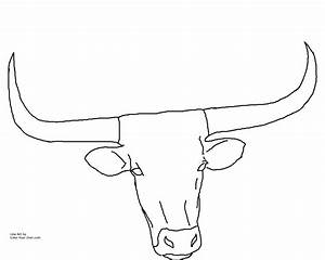 Texas Longhorn Coloring Pages Adult Coloring Pinterest