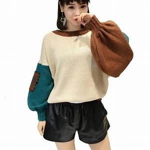 Korean Style Oversized Sweater