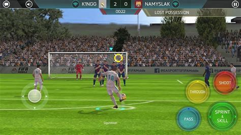 fifa soccer  android gameplay youtube