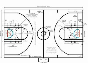 Diagrams Of Basketball Courts
