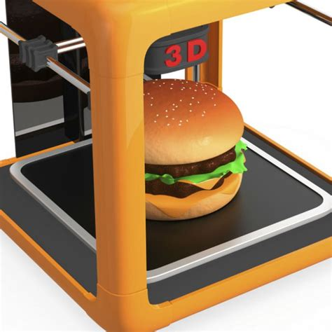 imprimante cuisine 5 choses surprenantes à réaliser avec une imprimante 3d