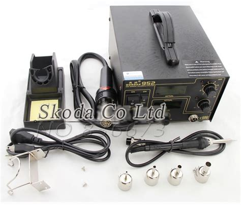 aliexpress buy gordak 952 air gun soldering iron 2 in1 smd rework station