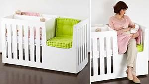 Lit Bébé Gain De Place : berceau bebe avec espace calin avec maman et lit enfant tout en un ~ Melissatoandfro.com Idées de Décoration
