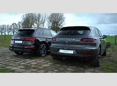 Does the Audi SQ5 Sound as Good as the Macan Turbo