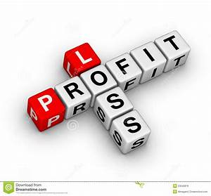 Loss and profit stock illustration. Illustration of plan ...