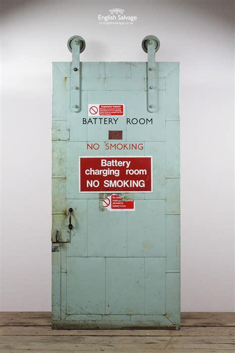 setb  refractory sliding metal door