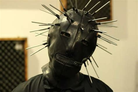 My Craig Jones Mask For A Halloween Slipknot Tribute Gig I