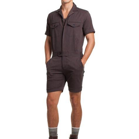 mens jumpsuit sure let experience the hell that is wearing a romper