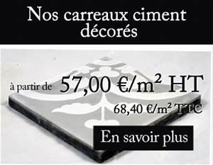 Carreaux De Ciment Unis : carreaux ciment pas cher carrelage pas cher tradicim l carreaux ciment de qualit petit prix ~ Melissatoandfro.com Idées de Décoration