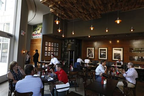 Chipotle chicken penne $14.20 chipotle cream sauce, arugula, mushrooms, red peppers, garlic and grated parmesan. Coffee, pizza, beer and Goldman Sachs: How Dallas small businesses got a boost from Wall Street