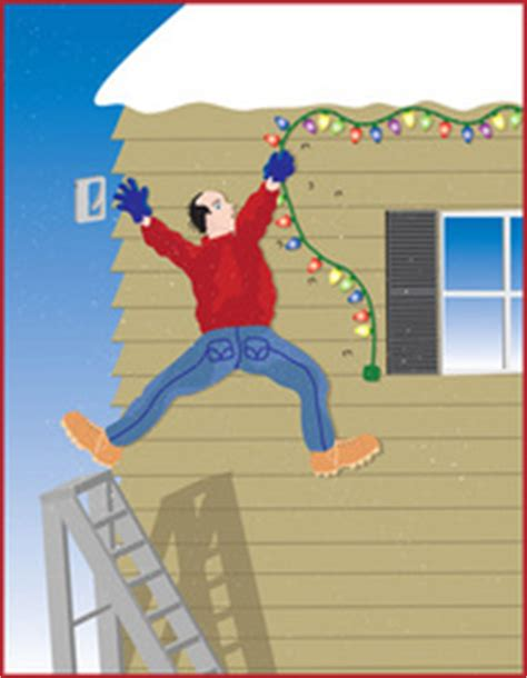 christmas decor  cowleys stresses ladder safety