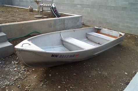 Old Aluminum Boat For Sale by 12 Aluminum Row Boat Sold Northwest Fishing Reports