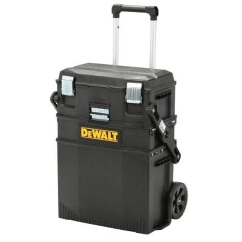 Home Depot Tool Chest On Wheels by Dewalt Mobile Work Center Dwst20800 The Home Depot