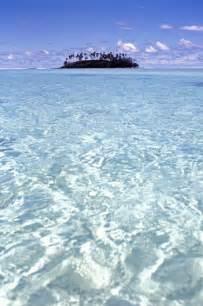 Rarotonga Cook Islands Lagoon