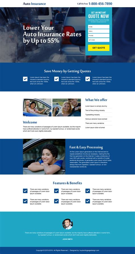web design landing page best landing page designs for capturing quality leads 2017