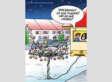 Weihnachtsbaum Wäscheständer Cartoons STUMPP VOLLVERDUMMT!