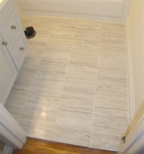 install peel  stick vinyl tiles
