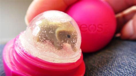 lipbalm selber machen eos lipbalm schneekugel diy snow globe selber machen aus eos h 252 lle weihnachten