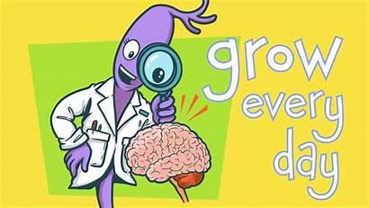 Brain Mindset Growth Grow Neuron Challenges Clipart