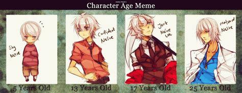 Age Meme - age meme neire by neire x on deviantart