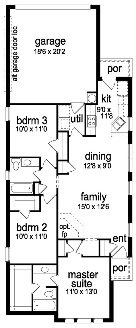house plan for narrow lot high quality house plans narrow lot 9 narrow lot