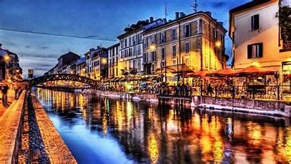 Italy Night Venice Mobile Venedig Italia Villen