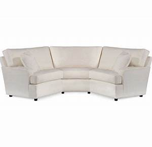 Sectional sofa design high end thomasville sectional for Small sectional sofa thomasville