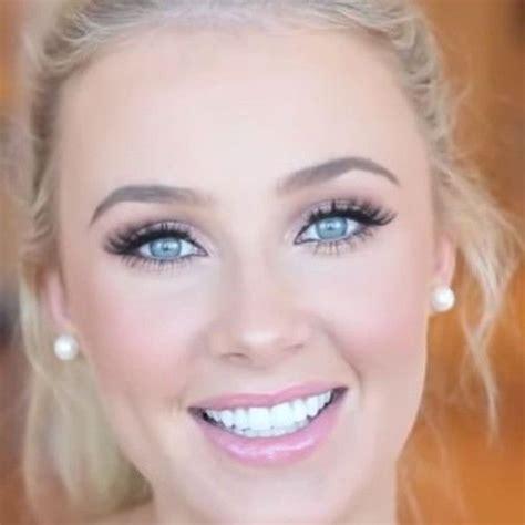 simple prom makeup  blue eyes prom makeup pinterest