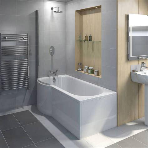 Best Bath Showers by Evesham Shower Bath 1500 X 800 Lh Plumb Home