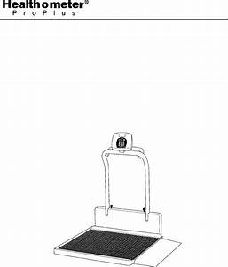 Health O Meter Scale 2600kl User Guide