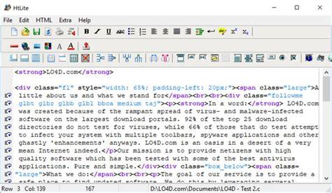 freeware html editors