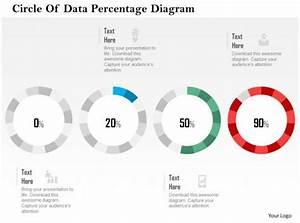 Circle Of Data Percentage Diagram Flat Powerpoint Design