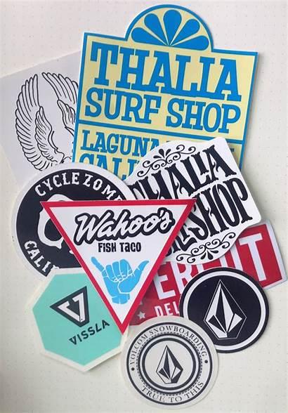 Beach Sticker Laguna Pack Stickers Club Surf