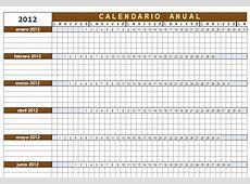 Plantilla Calendario Anual configurable para OpenOffice Calc