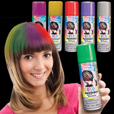 spray in hair color colored hair spray non light up novelties toys