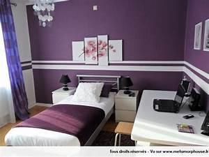 Couche Pour Ado Fille : d co int rieur pourpre modernes couleurs de peinture de ~ Preciouscoupons.com Idées de Décoration