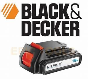 Batterie Black Et Decker 18v : black decker bl1518 18v 1 5ah li ion lithium stimmer ~ Dailycaller-alerts.com Idées de Décoration