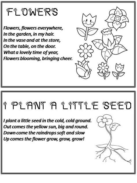 preschool short poems flower poems for keres 233 s class 114