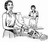 Supermarket Coloring Nostalgia Drawing Grocery Mom Food Brady Lorain County Pages Memories Getcolorings Printable Stores Retro Working Getdrawings sketch template