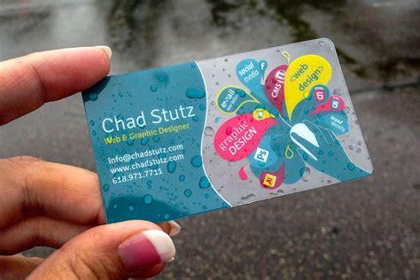 graphic designer business cards plastic cards  plastic