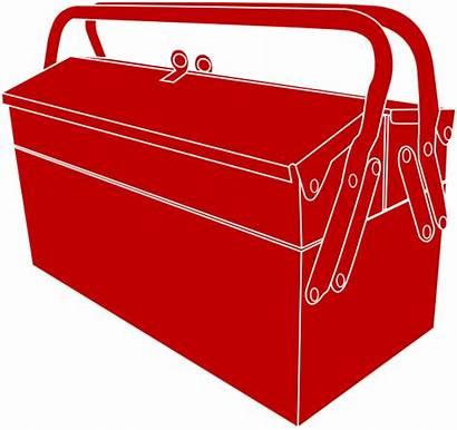Clipart Toolbox Box Clip Clker Vector Transparent
