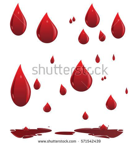Clipart Drop Of Blood Collection