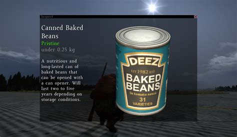 canned baked beans dayz standalone wiki