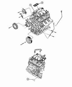 2008 Jeep Wrangler Engine  Long Block  Remanufactured  Timing  Front  Cover
